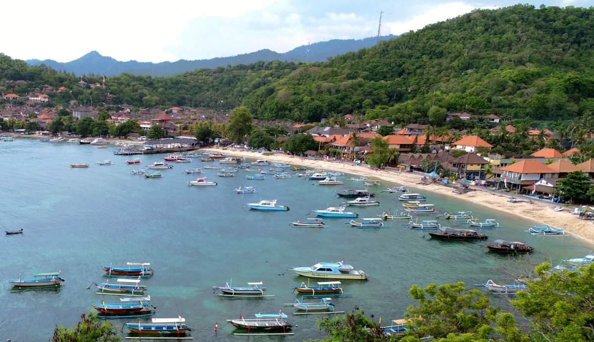 Padang Bai auf Bali